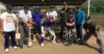 久米川少年野球場整備